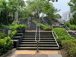 Lai Chi Kok Park - interesting staircase