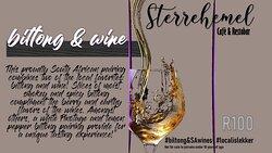 Biltong & wine pairing on the menu🍷