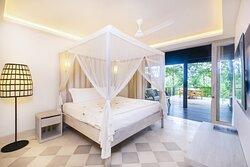 COMO Villa Master Bedroom With View