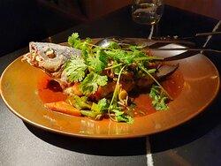 Fried Whole Sea Bass