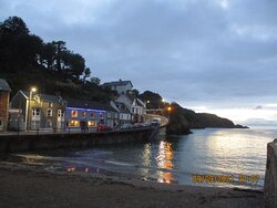 The village of Combe Martin