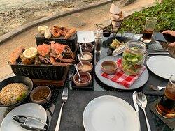 Amazing dinner, view & service