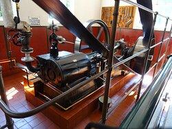 stoommachine kaasfabriek