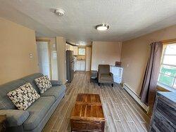 2 Bedroom Cabin - Living area