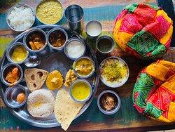 Authentic Rajasthani food