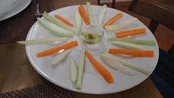 meloncella di Nardò, carote e sedano