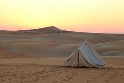 Liwa Desert camping.