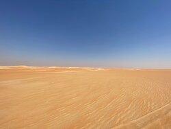 Liwa Desert travels.