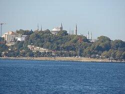 Boğaziçi Kıyısı Topkapı Sarayı