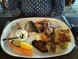 Plancha poissons