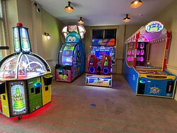 The Arcade near Harvest restaurant.