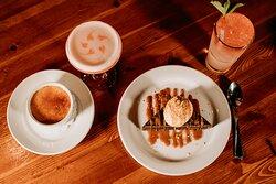 Delicious dessert menu