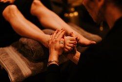 The foot sanctuary is divine!