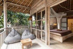 Premium Bungalow - Terrace & Bedroom