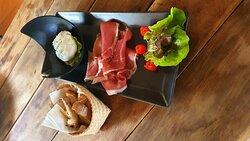Bufala and Parma Ham