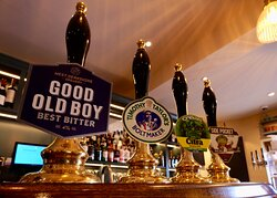 Selection of changing real ales