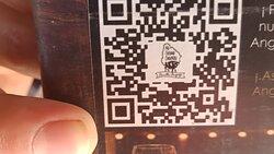 Al Chimichurri contactless menu qr code