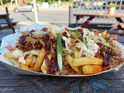 Dirty Fries with pulled pork