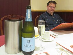 Choi's Restaurant & Takeaway Uppingham Rutland This prosecco was very nice.