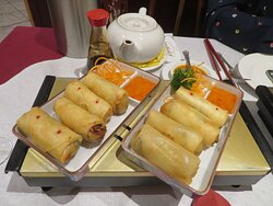 Choi's Restaurant & Takeaway Uppingham Rutland These vegie spring rolls were delicious, I would not call them mini as described on menu.