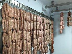 choice handmade sausages