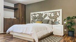 ¡La cama está deliciosa!. Cada suite tiene su propia personalidad.