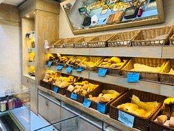 La nostra esposizione di pane