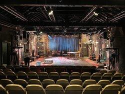 Theatre auditorium empty.