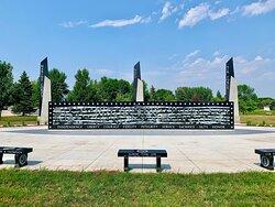 Veterans Memorial Park in Grand Forks, ND