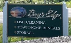 Fish cleaning comes BEFORE townhome on the sign, and this is note-worthy....