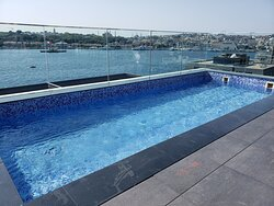 The pool, with a great view.