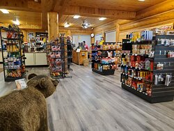 Convenience store in the lodge
