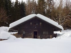 Stall im Winter