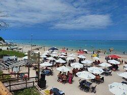 Excelente bar beira de praia em barra grande
