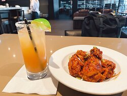 Korean Style Crispy Chicken Wings at our on-site restaurant and bar, Hillside Tavern.
