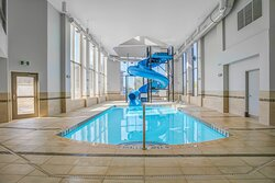 Indoor Pool and Waterslide