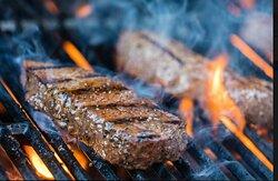 Sizzling Sirloin Steak