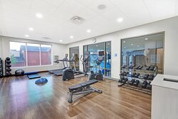 Guest only 24 hour Fitness Center with Personal TVs