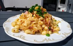 """a trip through Europe 'Krautspätzle"""" From the south of Germany"""
