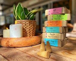 El yapımı aromalı konik tütsü, Ch'i Vegan Shop Antalya