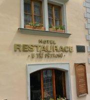 Hotel U Tri Pstrosu Restaurant
