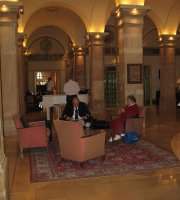 Lobby Bar at Imperial Riding School Renaissance Vienna Hotel