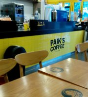 Paik's Coffee Busan Seomyeon Lotte