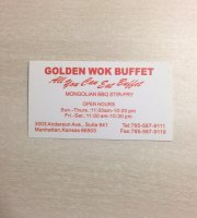 Golden Wok China Buffet