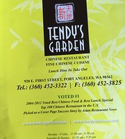 Tendy's Garden Chinese Cuisine