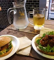 Fat Ass Burger and Brewing at Chillva market