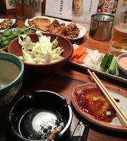Charcoal fire grilled chicken Masaya JR Koshienguchi
