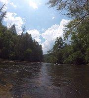 Riverrafting og tubing