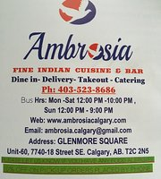 Ambrosia Fine Indian Cuisine
