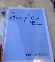 Duplex Cafe Lounge Javea